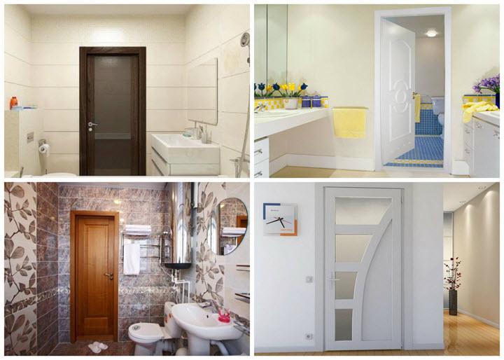 Влагоустойчивые двери для ванной и туалета