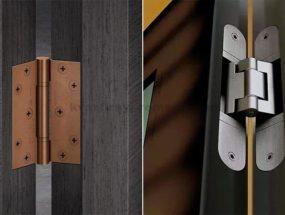 Выбор петель для межкомнатных дверей