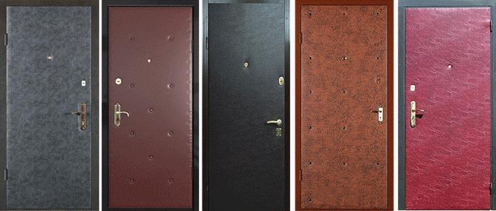 Самостоятельно декорировать можно и металлическую дверь